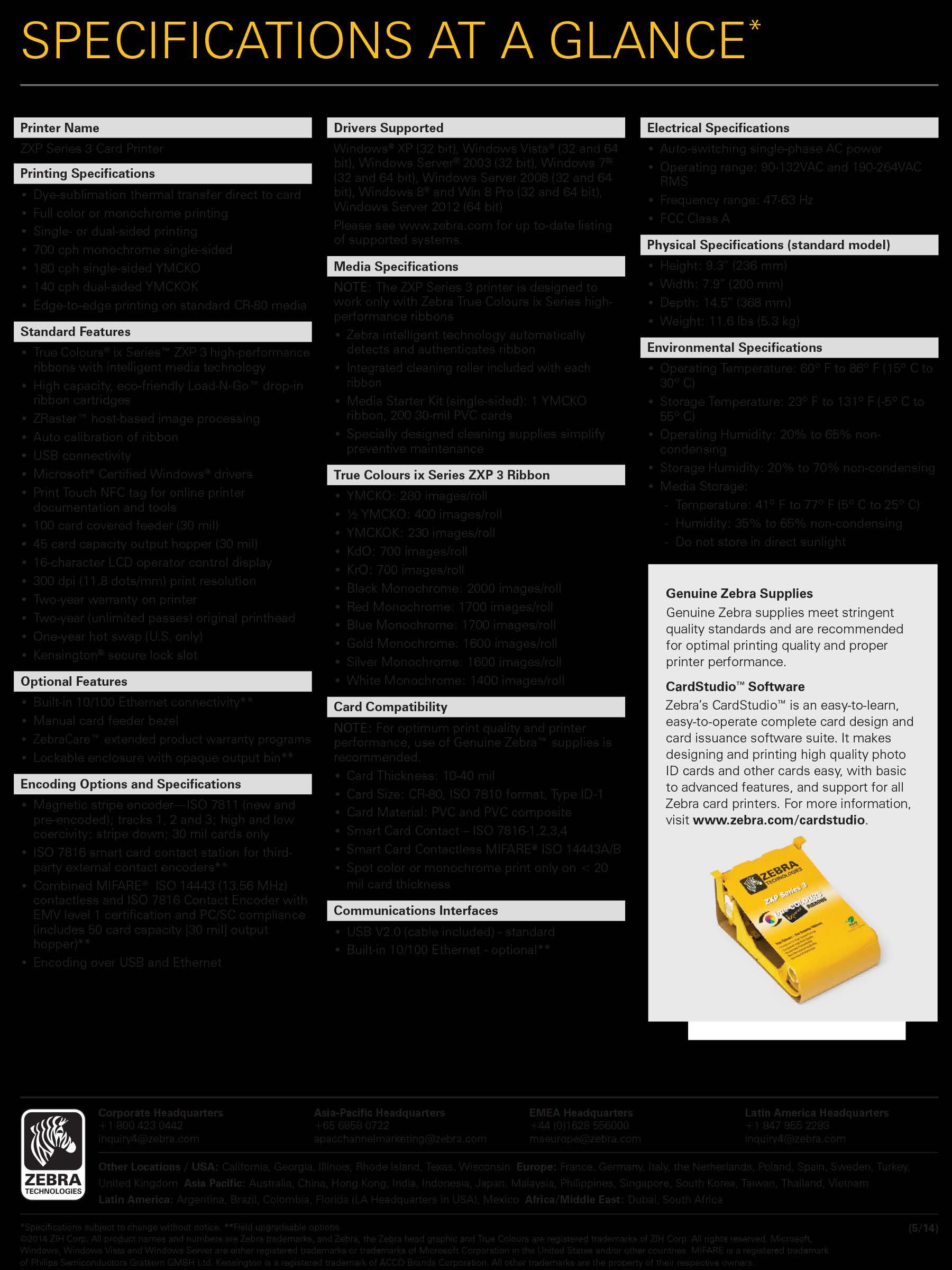 zebra zxp series 3 pdf
